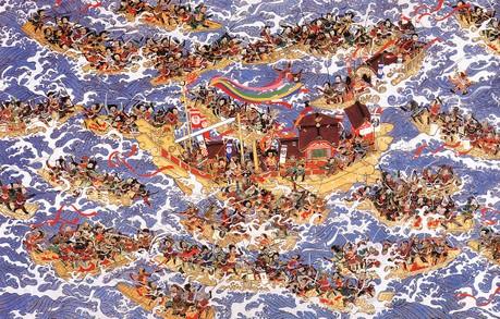 もう一度見たい源平合戦の絵!: いづつやの文化記号